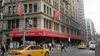 Strand Book Store tour