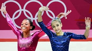 #The201720Winner ● Gabby Douglas vs. Viktoria Komova