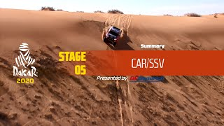 Dakar 2020 - Stage 5 (Al Ula / Ha'il) - Car/SSV Summary