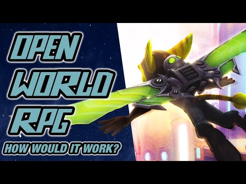 Open World RPG Ratchet And Clank Game?