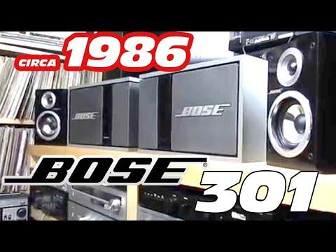 VINTAGE BOSE SPEAKERS BOSE 301 SERIES 2 DIRECT REFLECTING SPEAKERS