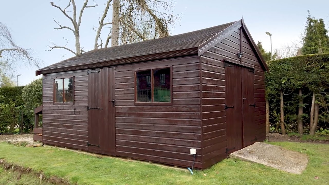 How to paint a garden shed I WAGNER