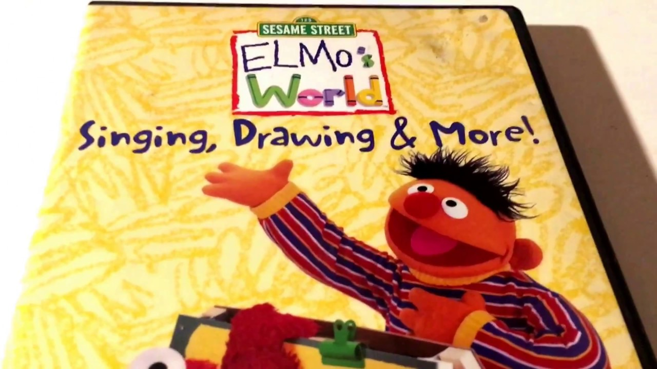 Sesame Street Elmo S World Singing Drawing More Dvd Movie Collection
