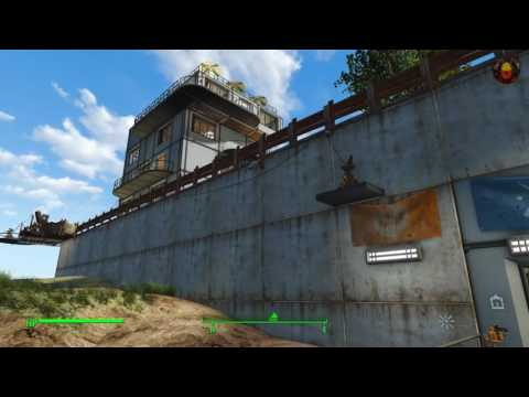 Fort Independence - Massive settlement on Spectacle Island Part 1/4