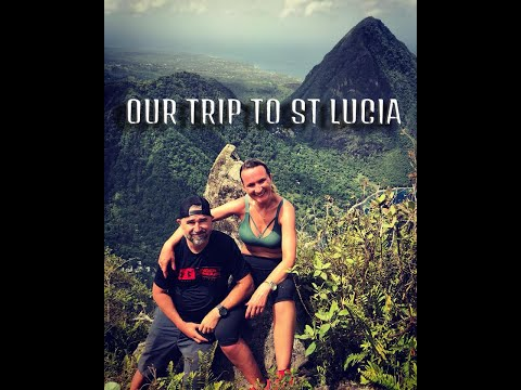 Petit Piton in St Lucia trip. Volcanic plug at 743m (4K)
