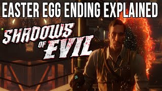 Shadows of Evil Easter Egg Ending Explained | Shadows of Evil Ending Storyline Explained