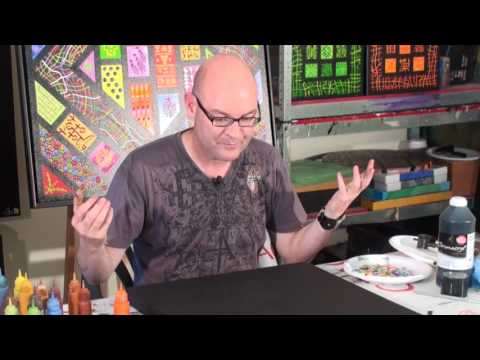Dave Behrens Paints with Acrylics