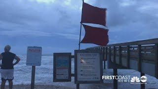 St. Augustine Beach sees impact from Tropical Storm Isaias