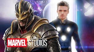 Avengers eternals first look teaser, marvel comic con trailer breakdown, phase 4 easter eggs. kit harington & doctor strange 2 ► https://bit....