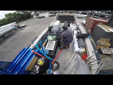 Loading the bargeman