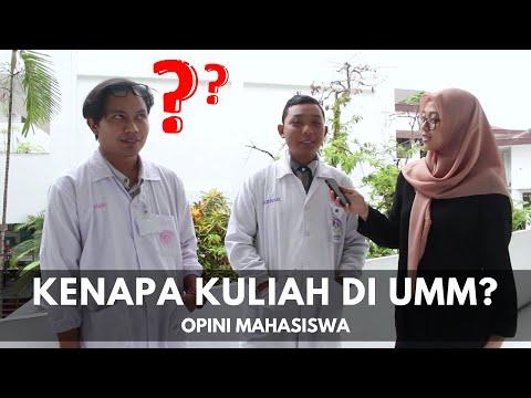 Kenapa Mau Kuliah Di UMM? - OPINI MAHASISWA