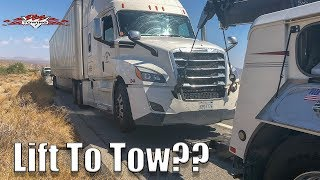 How To Tow The 2018 Freightliner Cascadia | HARDER THAN USSUAL