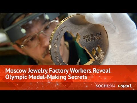 Moscow Jewelry Factory Workers Reveal Olympic Medal-Making Secrets