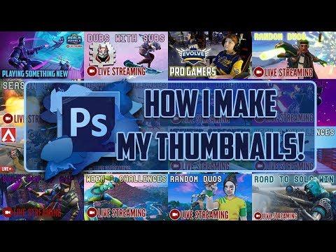 Tutorial: How I Make My Thumbnails thumbnail