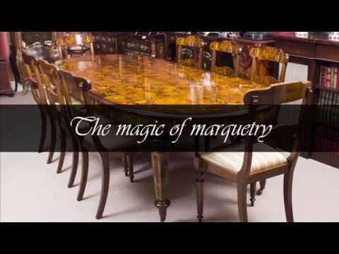 Bespoke Handmade Marquetry Dining Tables | Regent Antiques