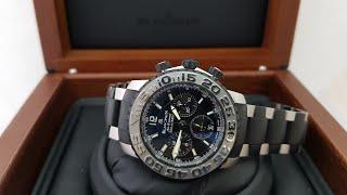 Спортивные часы Blancpain на браслете, обзор модели оригинальных часов!
