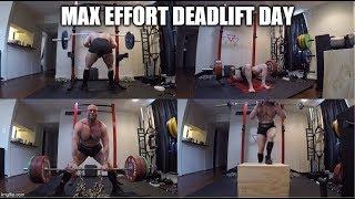 10-15-2019 Orc Mode Training - Max Effort Deadlift Day