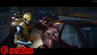 Injustice 2 The Flash Vs The Reverse Flash Race Fight With Interference Death Shot