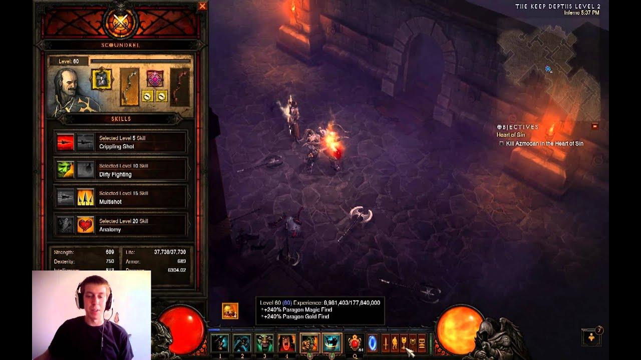 Top 3 Weapons For Followers Enchantress Templar Scoundrel Diablo Iii Patch 1 0 7 Youtube