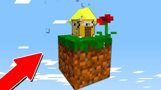 MENOR CASA DE LUCKY BLOCK DO MUNDO! (MINECRAFT)