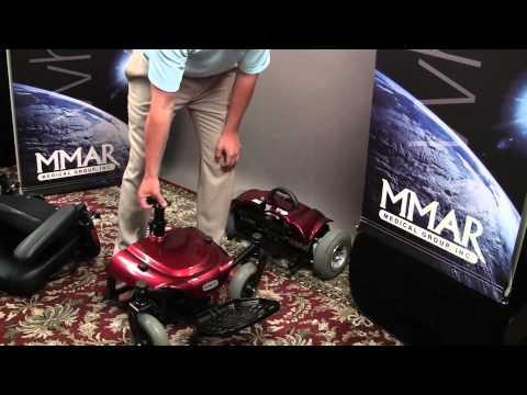Drive Medical Cobalt Travel Power Electric Wheelchair