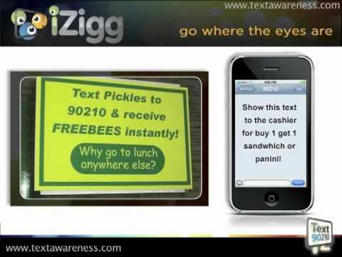 How Restaurants Make Money Using Text Message Marketing   iZigg Mobile Media Marketing