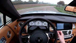 Rolls Royce Dawn 6.6 V12 POV Test Drive