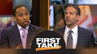 First Take reacts to Carmelo Anthony staying with Thunder next season | First Take | ESPN