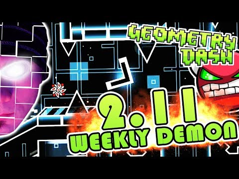Geometry Dash 2.11 WEEKLY DEMON #0 | KITTY by F3LIXSRAM