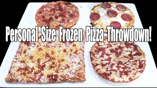 Frozen Pepperoni Pizza Throwdown - WHAT ARE WE EATING?? - The Wolfe Pit