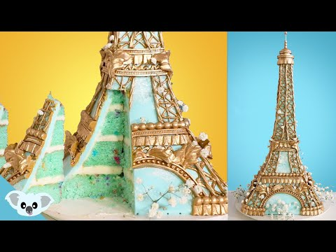 Eiffel Tower Cake Ideas | Amazing Cakes How To | Koalipops
