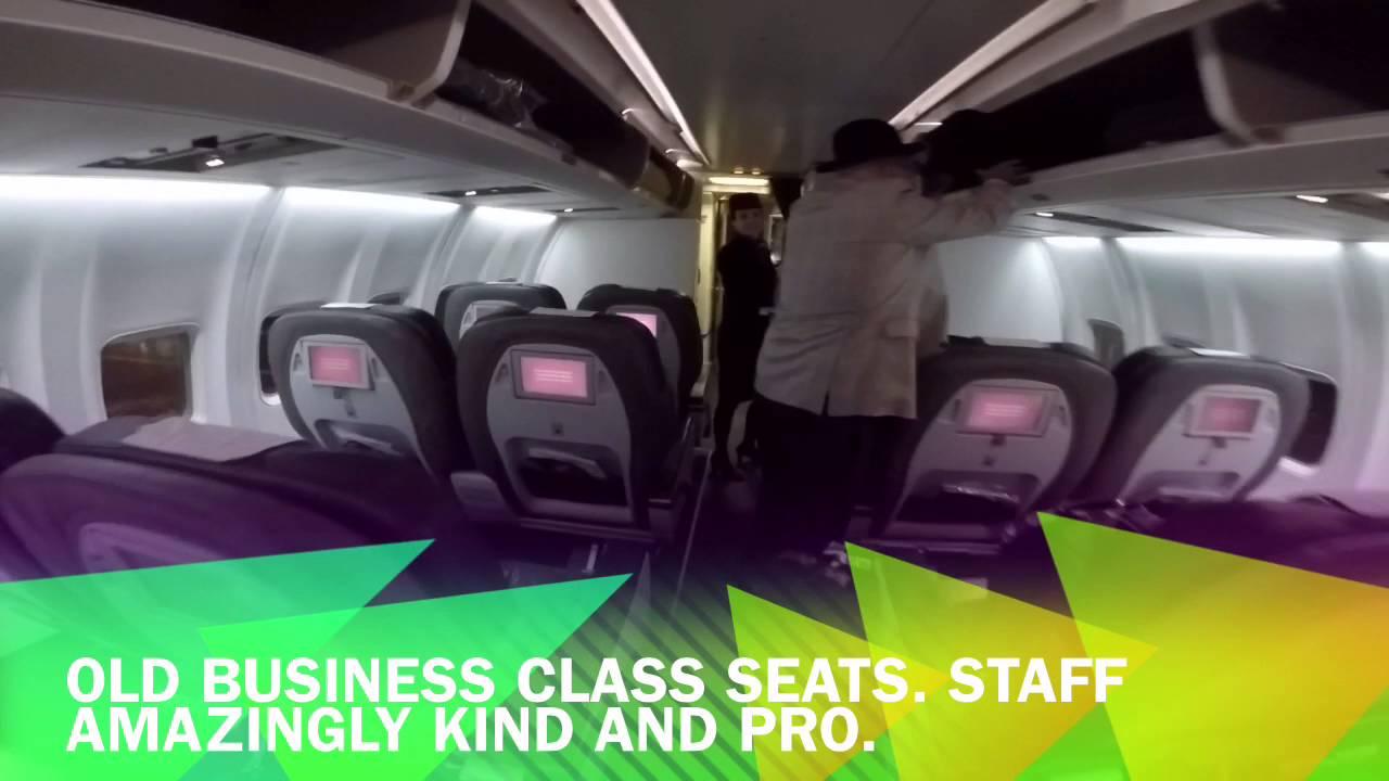 Icelandair Business Class Saga Class On Their Boeing 757