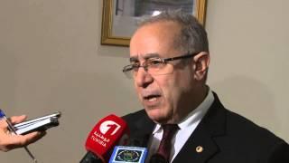 تصريح وزير الشؤون الخارجية الجزائري السيد رمطان لعمامرة
