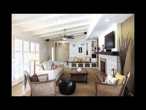 open concept kitchen living room color ideas - YouTube