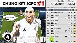 FIFA ONLINE 4 | Đội Hình Khủng TOP 1 SERVER 350 TỶ & Đại Chiến Cuối Cùng | CHUNG KẾT SGFC CUP #1