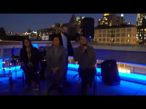 A Portrait of Modern America Spotlighting Young Influential Immigrants Rooftop Event
