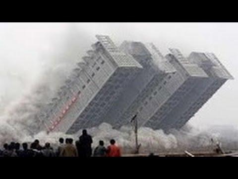 TOP 100 BEST Implosions Explosion Compilation - Best Building Demolition Compilation 2016
