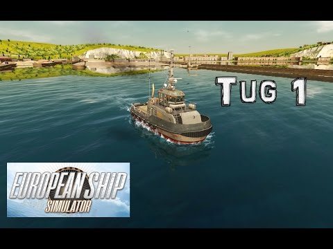 European Ship Simulator Gameplay: I Tug off a Cargo Ship...