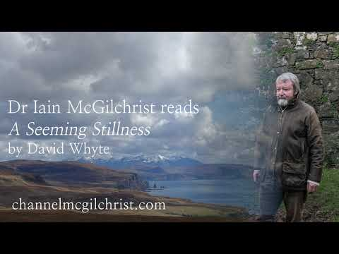 Daily Poetry Readings #362: A Seeming Stillness by David Whyte read by Dr Iain McGilchrist