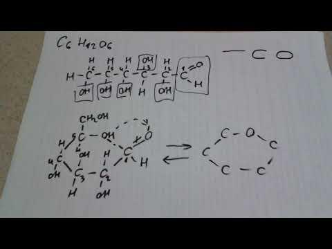 Как записать формулу сахарозы
