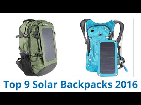 9 Best Solar Backpacks 2016
