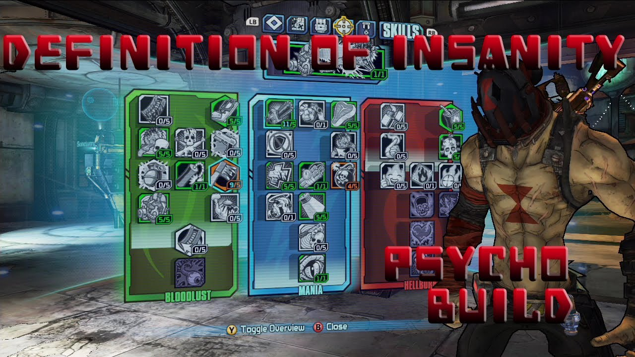 Borderlands 2 Level 61 Psycho Melee Build- Definition of ... Borderlands 2 Psycho Build