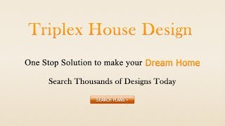 Triplex house accommodates large family conveniently