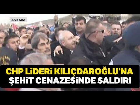 Kılıçdaroğlu'na Şehit Cenazesinde Saldırı Düzenlendi