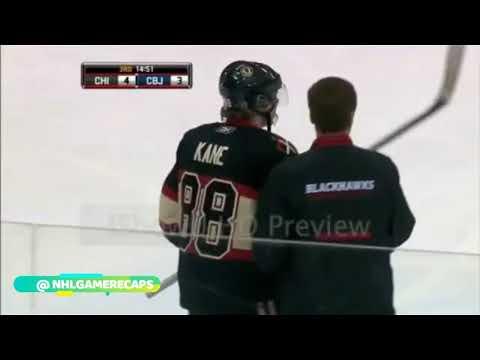 Patrick Kane Career NHL Injuries and Hits. [HD]