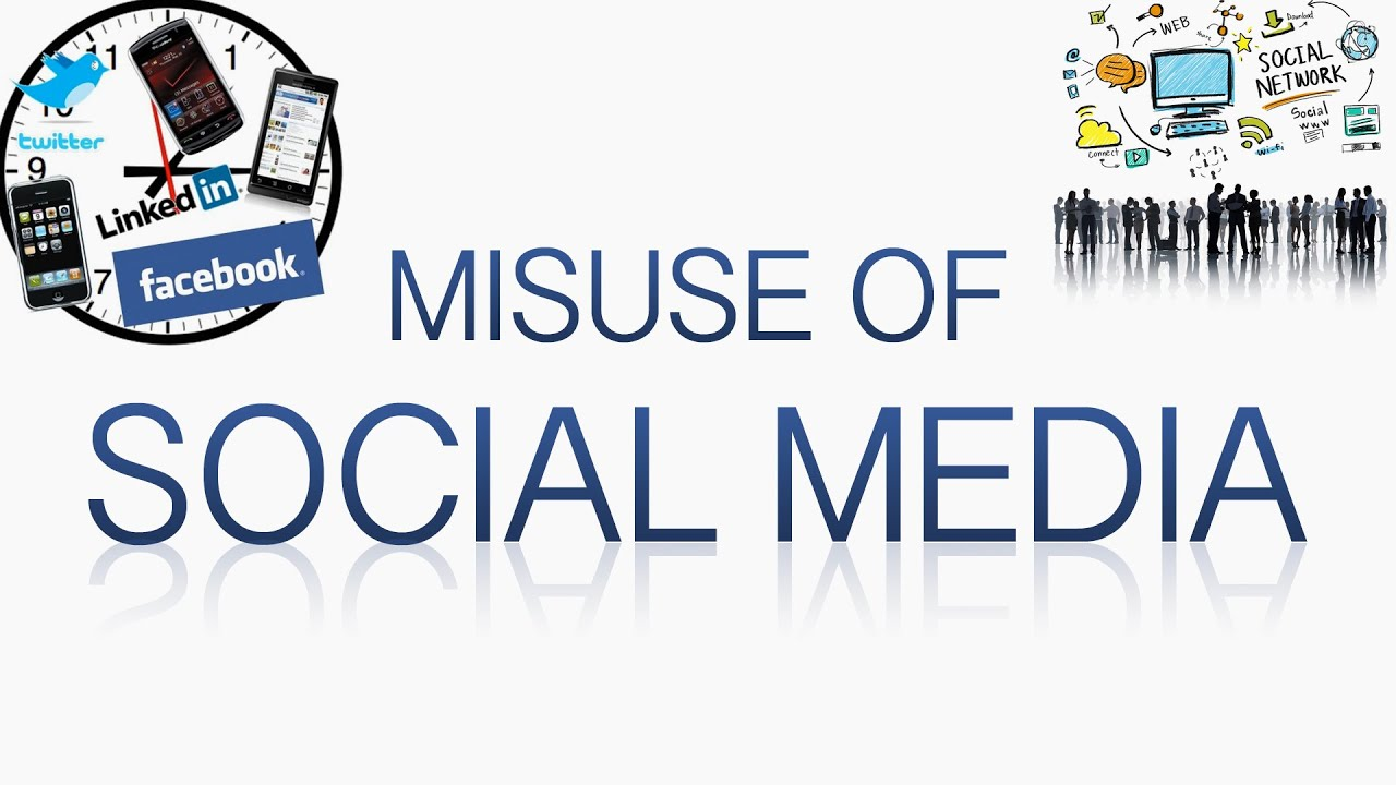 misuse of media Misuse of media for the sake of publicity, sales and promotion news and media in general play a very important role for every single one of us in fact, it is the media that defines much of how we perceive the world around us.