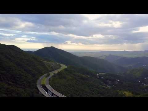 Beautiful Scenery, Landscape, Mountains and Bridge Aerial Drone Video - Dji Mavic Pro