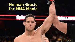 Neiman Gracie Interview Before Ed Ruth at Bellator 213
