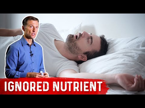 Sleep Apnea Is A Nutritional Deficiency