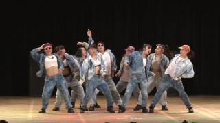 """Swing@Boogie""[桜丘高等学校]_3rd PLACE_2017.4.29_高校ストリートダンス選手権2017決勝大会"